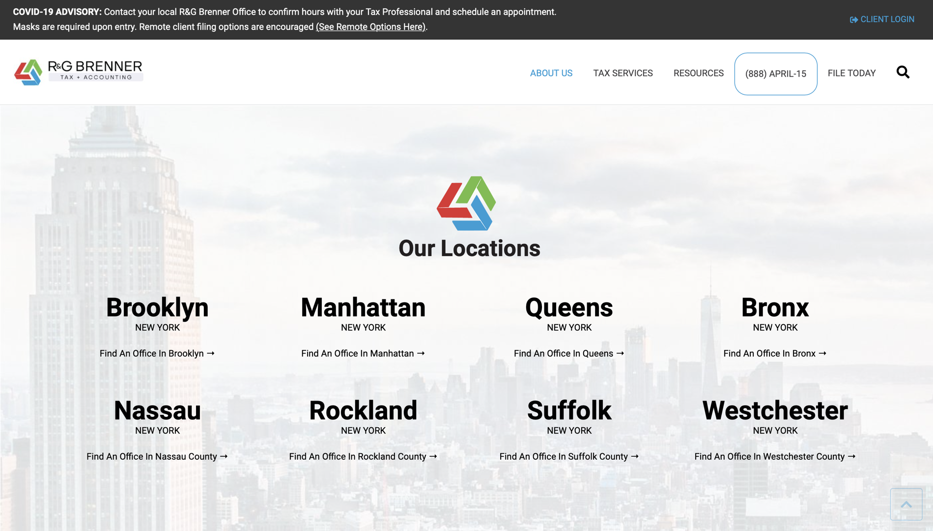 NEW locations page